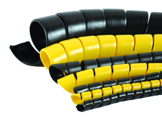 Спираль защитная пластиковая 20-27 мм