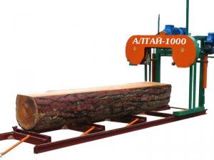 Алтай-3 (1200) пилорама ленточная Проф 10.5 м