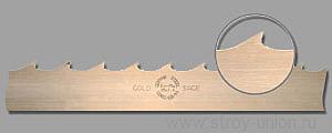 Полотно Gold Sage 40*1.0*22 закаленный зуб по дереву, разведено и заточено