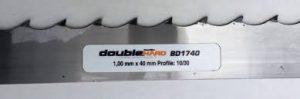 Полотно Wood-Mizer DH 40*1.0*22 закаленный зуб по дереву, разведено и заточено